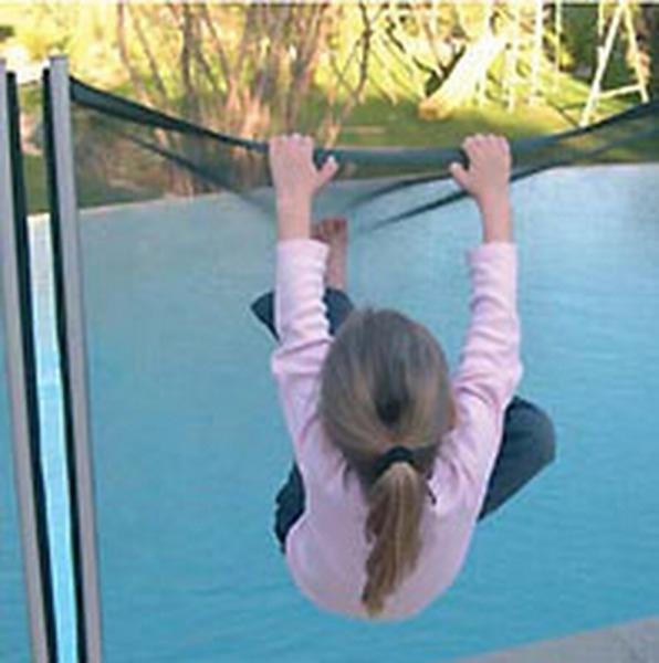 Valla de seguridad desmontable para piscina segurbaby - Valla de seguridad infantil ...