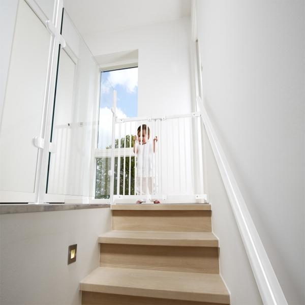 Barreras de seguridad para escaleras y puertas segurbaby - Barreras seguridad escaleras ...