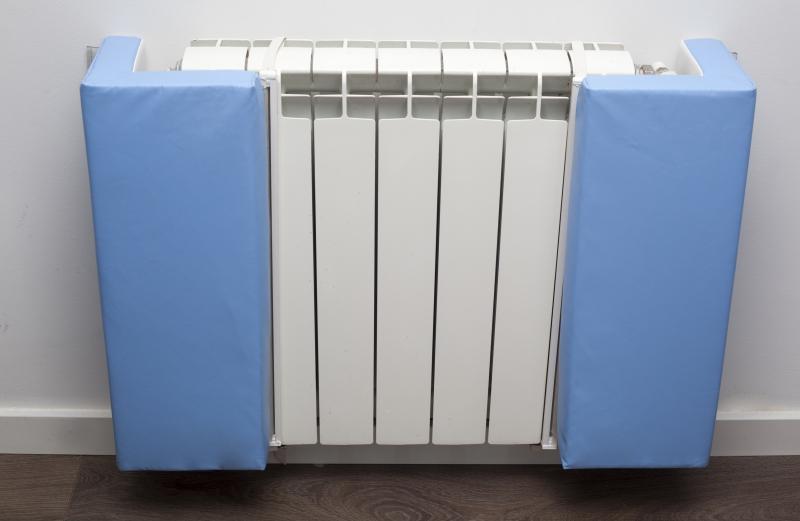 Protector de foam para esquinas de radiador segurbaby - Protectores chimeneas para ninos ...