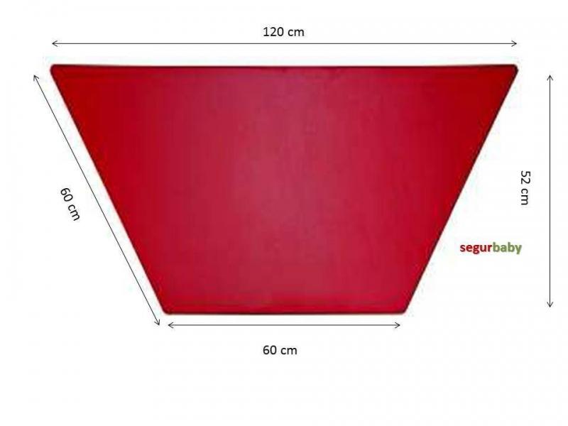 Mesa escolar trapecio 120x60 Mobeduc   Segurbaby