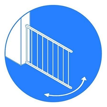 Barrera de seguridad s gate simple segurbaby - Barrera de seguridad para ninos ...