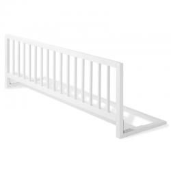 Barrera de cama extra larga madera blanca segurbaby - Barreras seguridad ninos ...