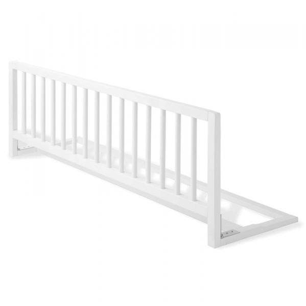 Barrera de cama extra larga en madera blanca segurbaby - Barandillas seguridad ninos ...