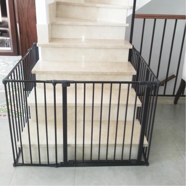 Barrera a medida para ni os segurbaby - Puertas para escaleras ...