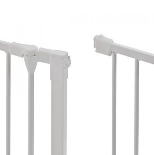 Puerta de seguridad para ni os flex m blanca segurbaby - Barandillas escaleras ninos ...