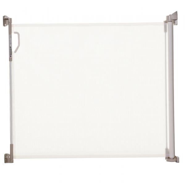 Barrera seguridad enrollable 140 cm blanca segurbaby - Puertas de seguridad para ninos ...