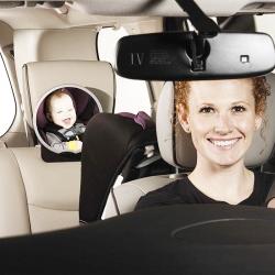 Espejo retrovisor a contramarcha safetyview segurbaby for Espejo para mirar bebe auto