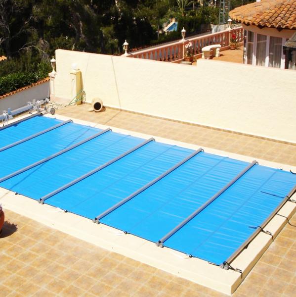 Cobertor piscina segurbaby for Lonas para piscinas baratas
