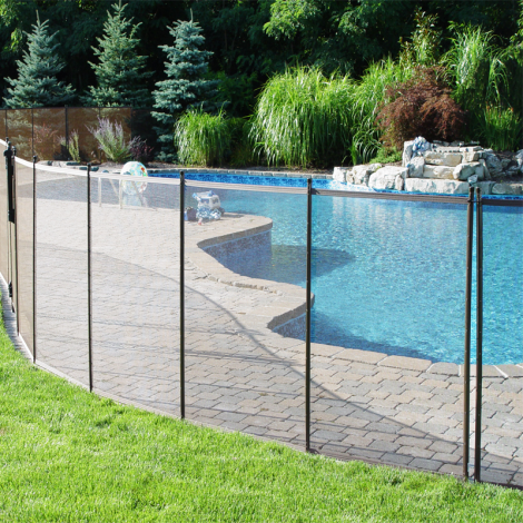 Valla de seguridad desmontable para piscina segurbaby for Valla jardin pvc
