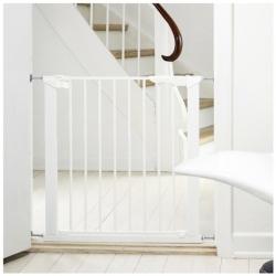 Barrera de seguridad premier babydan blanca segurbaby - Barreras escaleras ninos ...