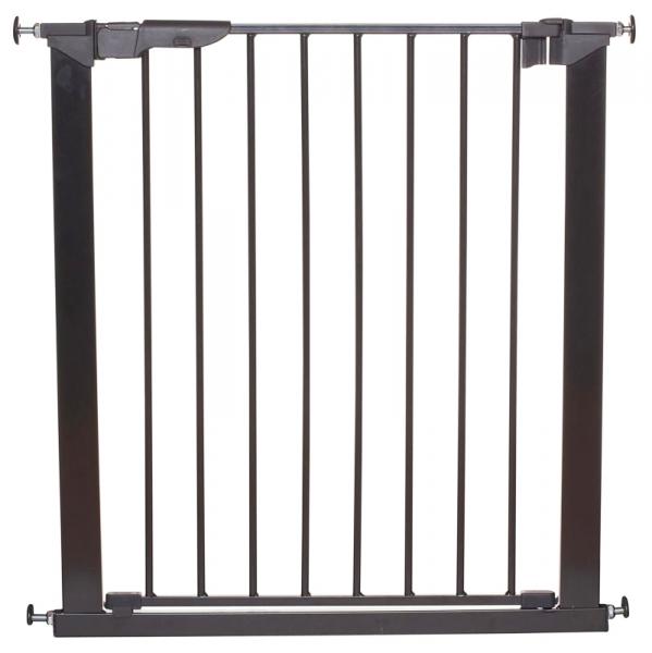 Barrera de seguridad premier negra babydan segurbaby for Puertas seguridad ninos