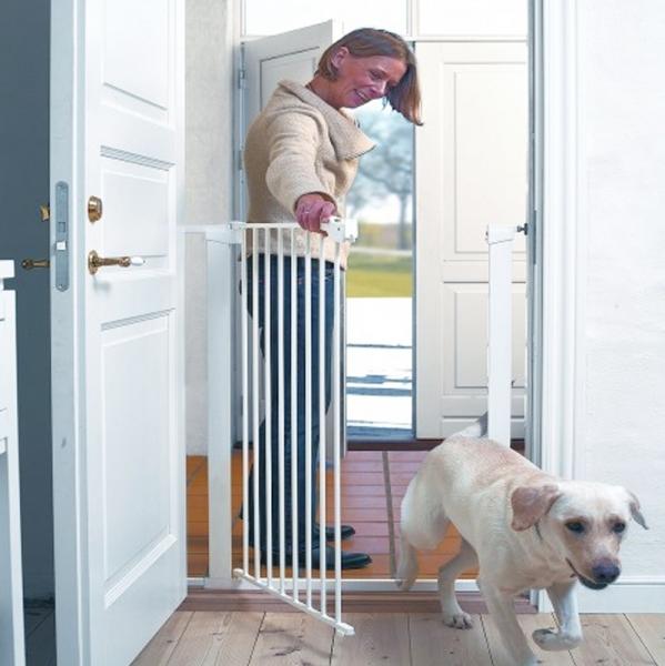 Barrera de seguridad extra alta para perros segurbaby - Seguridad escaleras ninos ...
