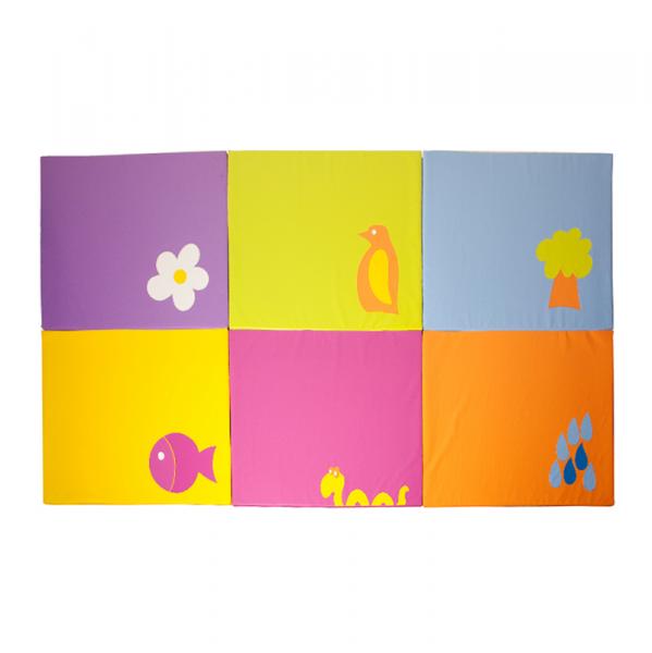 Tatami infantil decorado 120x150x2 segurbaby - Colchonetas suelo infantiles ...