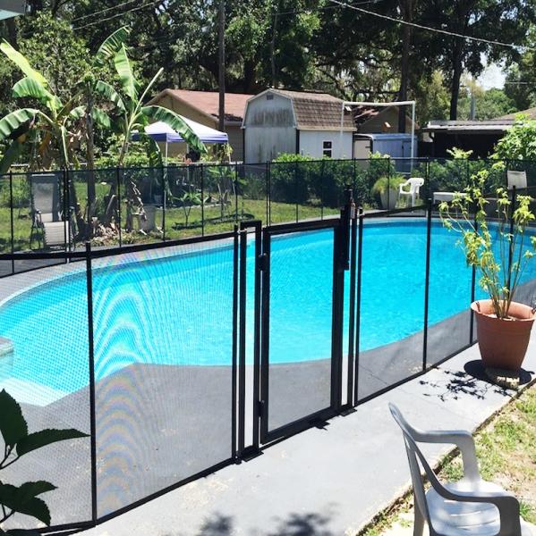 Cierre magn tico puerta de piscina segurbaby - Vallas de seguridad ninos ...