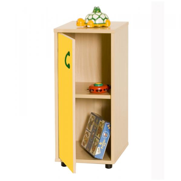Mueble infantil bajo/armario con 2 estantes madera | Segurbaby...