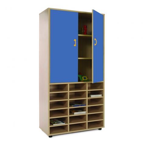 Mueble escolar alto casillero armario mobeduc segurbaby - Mueble casillero ikea ...