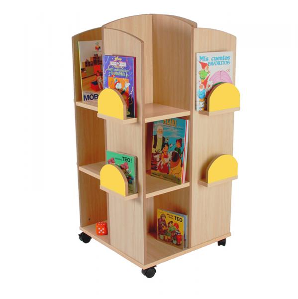 Torre expositora de libros segurbaby - Mueble libreria infantil ...