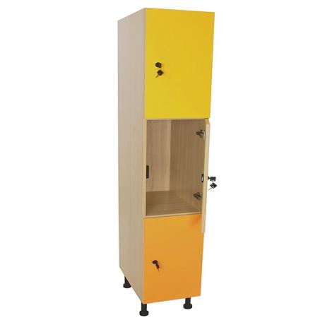 Mueble taquilla escolar 3 puertas ancho 40 cm segurbaby for Zapatero ancho 40 cm
